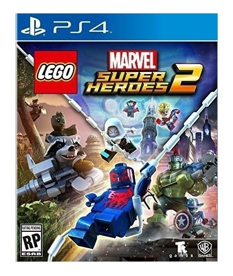 Lego Marvel Super Heroes 2 Ps4 Mídia Física