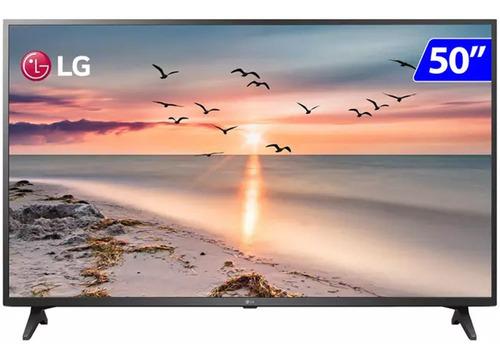 Imagem 1 de 7 de Smart Tv LG Led 50 4k Uhd Hdr Wi-fi Webos 6.0 Comando De Voz