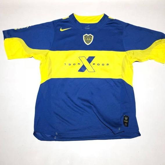 Camiseta De Boca Juniors Nike Titular 2005 Xentenario Nro 32