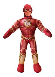 Muñeco Flash Liga De La Justicia C/ Sonido Y Luz New Toys