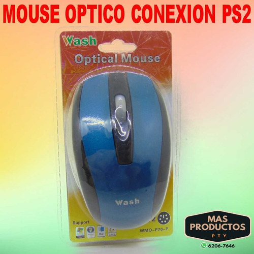 Mouse Optico Conexion Ps2