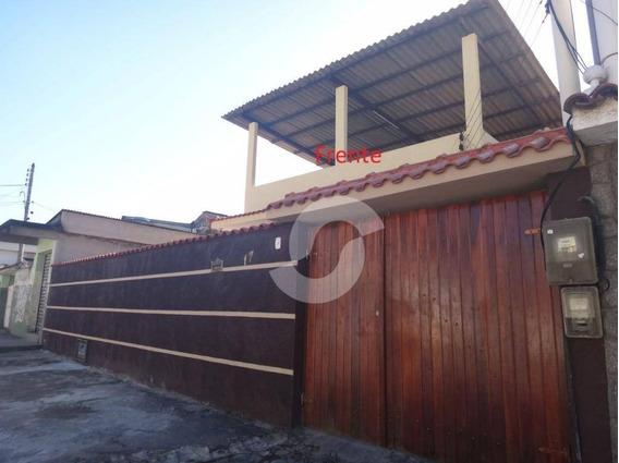 Casa Linear De 3 Quartos, Em Nova Cidade, São Gonçalo. - Ca1531