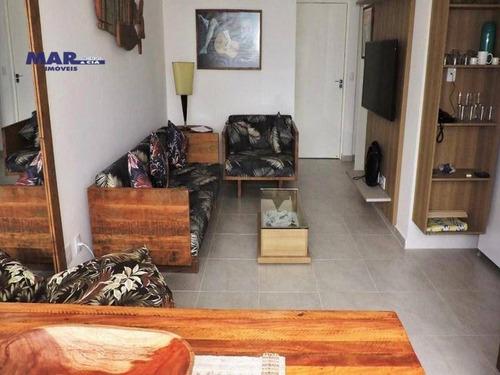 Imagem 1 de 10 de Apartamento Residencial À Venda, Centro, Guarujá - . - Ap10716