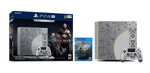 Sony Ps4 Pro 1tb 4k Hdr God Of War Edition + Fifa21