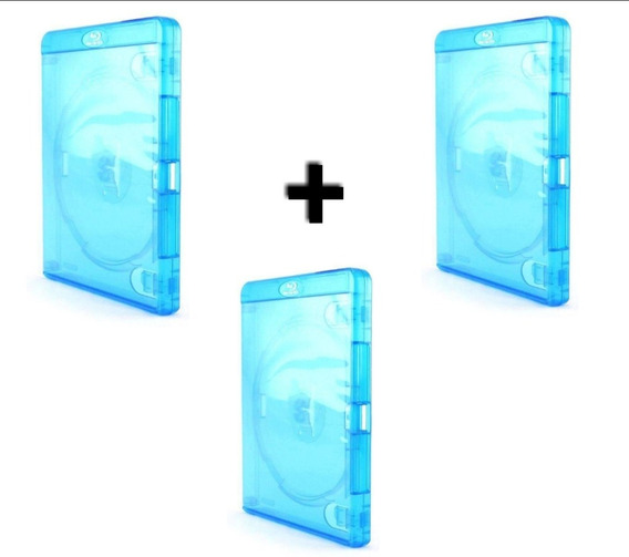 Estojo Case Capa Para Fifa Blue-ray 3 Unidades