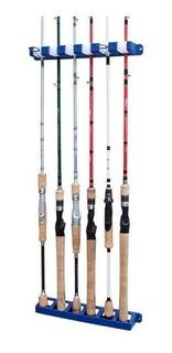 Suporte Expositor Vara De Pesca Rod Rack Parede Aqua Fishing
