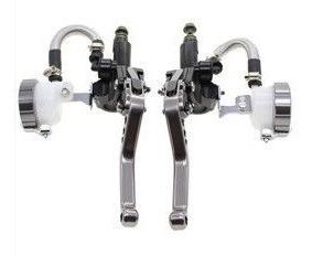 Kit Manicoto Hidraulico Cinza Freio/embreagem Moto