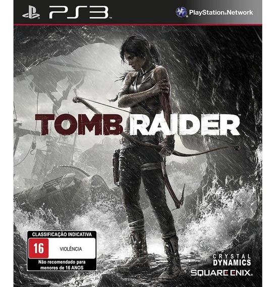 Jogo Tomb Raider Ps3 M. Fisica