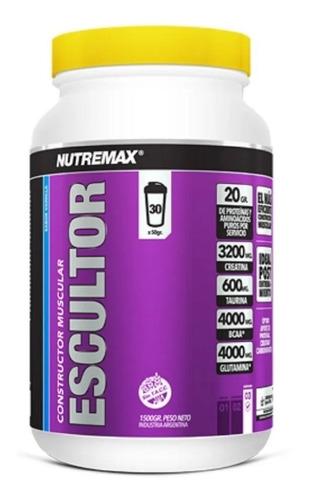 Imagen 1 de 6 de Escultor Nutremax Constructor Muscular 1500g Creatina