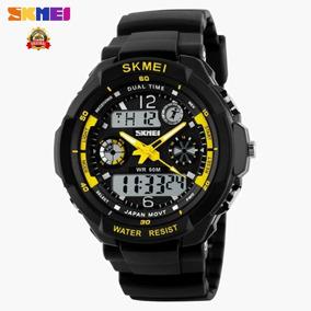 Relógio Masculino Preto Curren 8106 Original Aço Casual