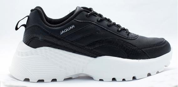 Zapatillas Urbana Jaguar Plataforma Dama G9043