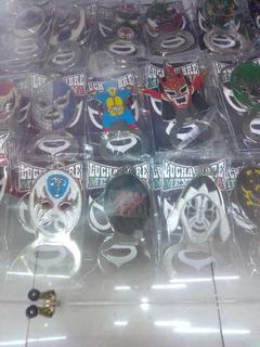 Llaveros Y Destapador De Mascara Lucha Libre Varios Modelos