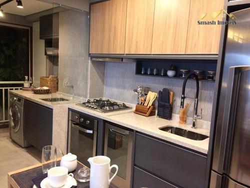 Imagem 1 de 23 de Apartamento À Venda, 93 M² Por R$ 775.000,00 - Centro - Guarulhos/sp - Ap0141