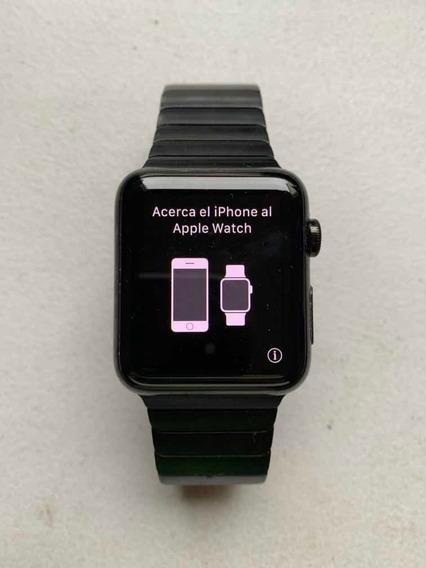 Apple Iwatch Con Correa De Eslabones Negro Espacial