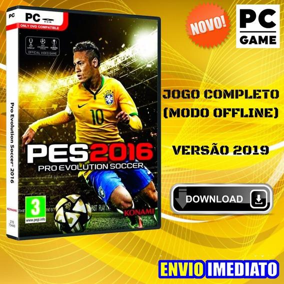 Pes 2016 - Pc Game - Português - Envio Imediato