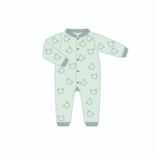 Molde Digital Modelagem De Macacão Pijama Infantil