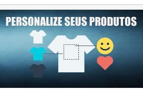 Site Completo Para Personalizar Camisetas E Qualquer Produto