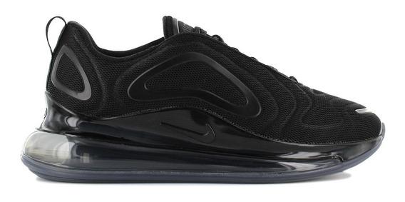 Nike Air Max 720 Black Hombre Originales Cod 0184