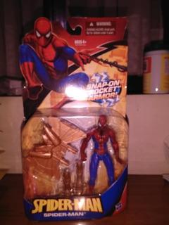 Spiderman Armored Figura De Coleccion