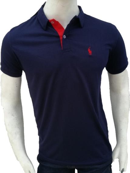 Chemises Caballeros Polo Unicolor Mayor Y Detal