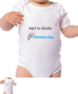 Juego Para Bodys Bebé Personalizado