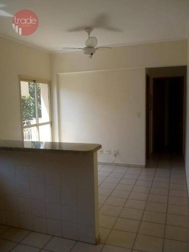 Imagem 1 de 17 de Apartamento Com 1 Dormitório Para Alugar, 40 M² Por R$ 850,00/mês - Alto Da Boa Vista - Ribeirão Preto/sp - Ap6164