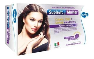 Suplevit Mulher 60 Cáps Multivitamínico Antienvelhecimento