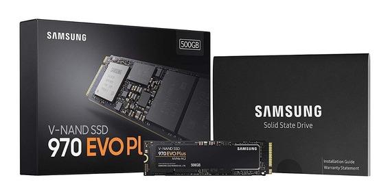 Solido Ssd Samsung 970 Evo Plus 500gb Nvme Pcie Gamer 3500mb