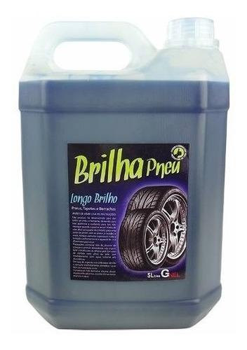 Imagem 1 de 1 de Limpa Pneu Pretinho Concentrado 5 Kg Chemicals Universal