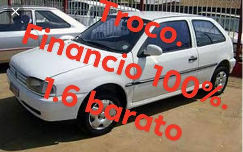Volkswagen Gol 1.6 Branco 8v 1998/raridade Todo Documentado