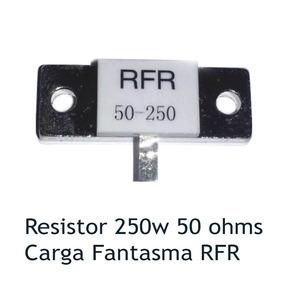 4 Peças Resistor Fantasma Carga 250w 50 Ohms 5% 50ohms