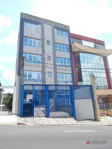 Imagem 1 de 18 de Sala, 110 M² - Venda Por R$ 402.000,00 Ou Aluguel Por R$ 2.000,00/mês - Centro - São Bernardo Do Campo/sp - Sa0553
