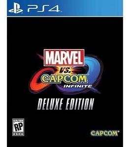 Ps4 Marvel Vs Capcom Infinite Deluxe Edition - Case De Metal - Legenda Em Português
