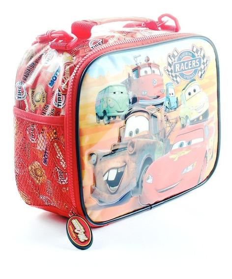 Lunchera Termica Disney Cars Original Wabro Mundo Manias