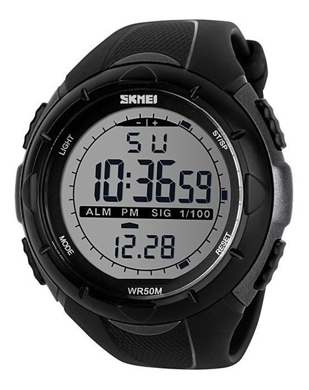 Relógio Masculino Skmei Resistente A Água Digital Militar
