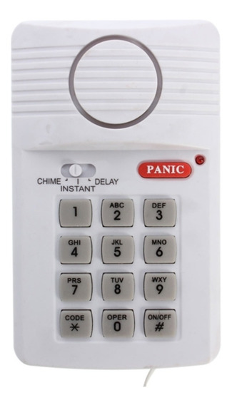 Kit Alarme Residencial Com Senha Sistema Protecao Numerico