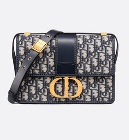 Bolsa Dior Montaigne 30 Oblique Azul Ou Bordo Lançamento 19