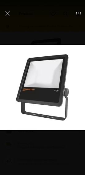 Refletor Advanced Osram 200w Ip65 Luz Branca 5000k 20000lm