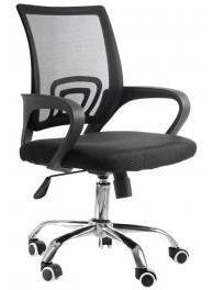 Cadeira Para Escritório Giratória Preta + Barata Do Mercado