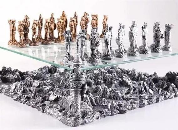 Xadrez Medieval Castelo Kingdom Knights Modelo 3