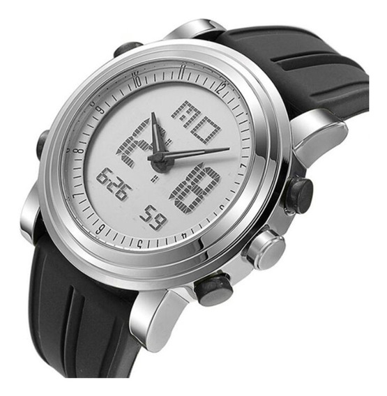 Relógio Sinobi 9368 Esportivo Digital Led Com Caixa Original