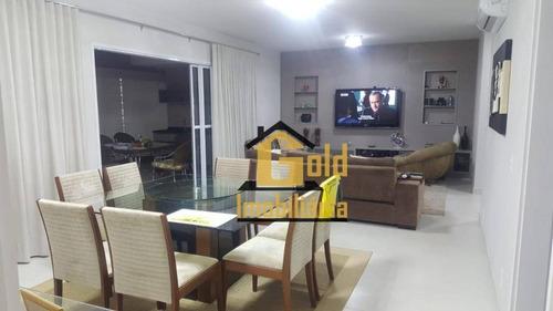 Apartamento Com 3 Dormitórios À Venda, 183 M² Por R$ 1.100.000,00 - Jardim Botânico - Ribeirão Preto/sp - Ap1646