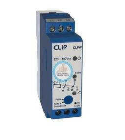 Relé Monitor Clip Falta E Sequência De Fase Clpw 220-480v
