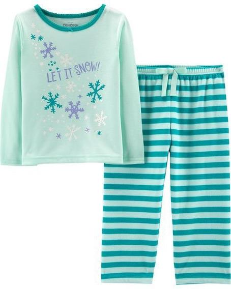 Pijama Nueva Osh Kosh Let It Snow Talla 3