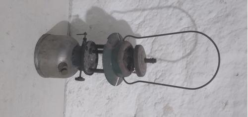 Antiguo Farol A Mantilla Metal Con Detalles Tal Cual Foto