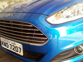 Ford New Fiesta 1.5 Se Azul - Estado De Novo!