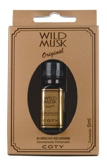Wild Musk Original Almíscar Selvagem 5ml