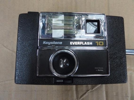 Máquina Fotográfica Keystone Everflash 10 - Vintage