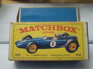 Matchbox Nº52 B.r.m. Racing Car B969