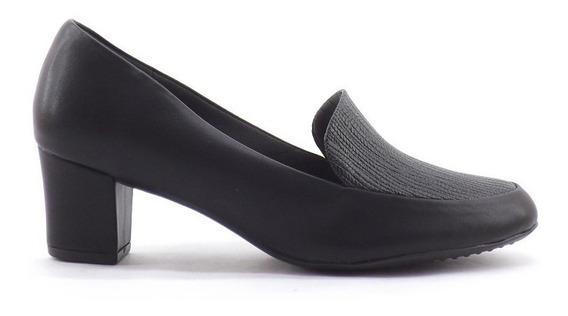 Zapato Picadilly Clasico Para Uniforme Taco Ancho Mujer